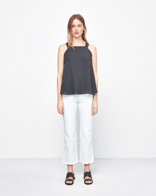Double Georgette Top Rock