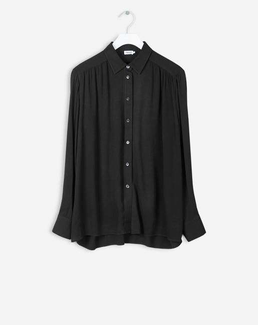 Feminine Shirt Black