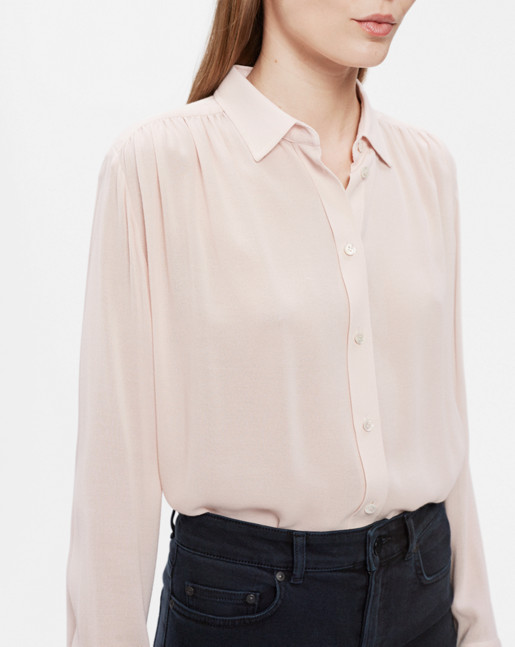 Feminine Shirt Light Blush