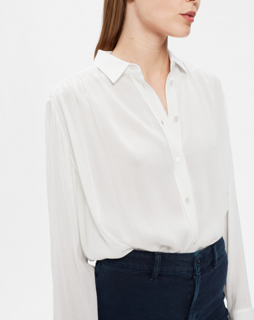 Feminine Shirt Off White