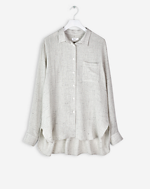 Relaxed Shirt Light Grey