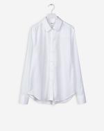 Perfect Cotton Dobby Shirt White