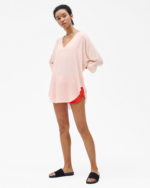 Zoe Tunic Top Tearose