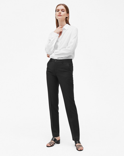 Luisa Cool Wool Slacks Black