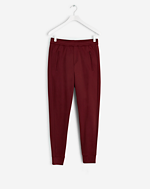 Shiny Sweat Pants Mulberry