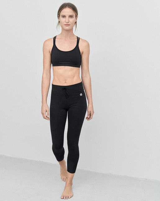 Crop Mesh Yoga Legging