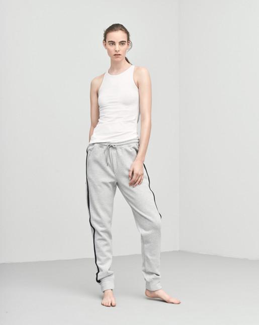 Brushed Sweat Pants Grey
