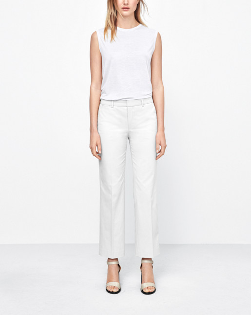 Linet Cropped Pants Linen