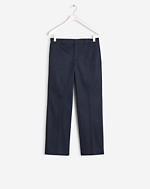 Linet Cropped Pants Navy