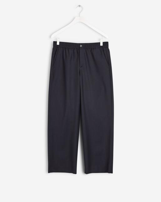 Rylie Cool Wool Pants Dark Navy