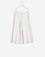 Flyn Cropped Pants Off White