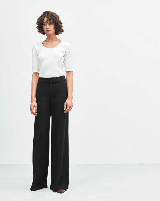 Rae Wide Pants Black