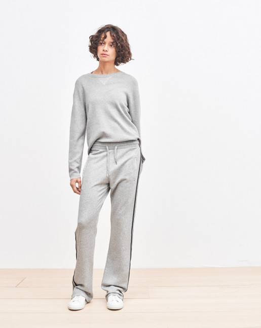 Sweat Pants Grey Melange
