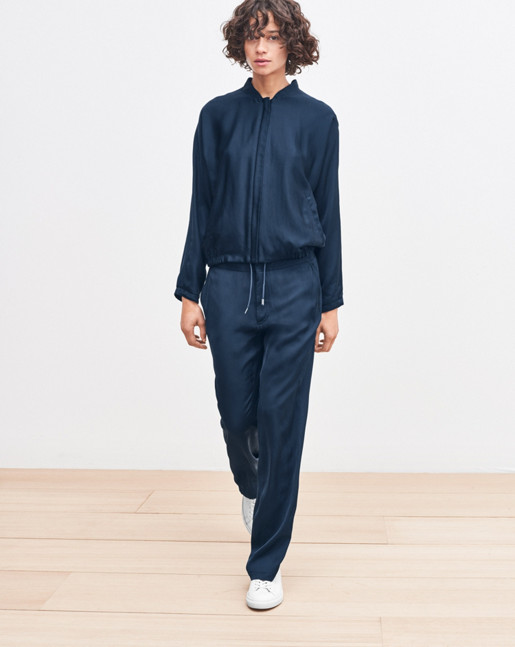 Jessie Track Pants Blue Graphite