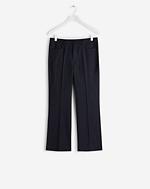 Lily Cropped Pinstripe Pants