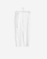 Lan Cropped Pants White