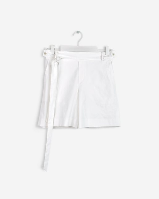 Lan Shorts White