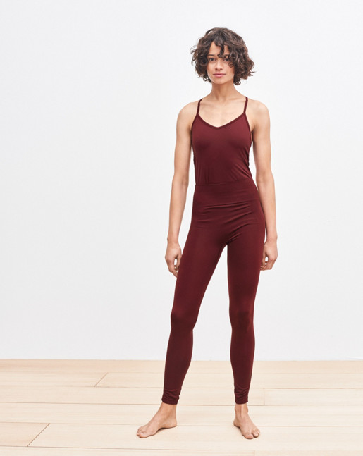 High Seamless Leggings Mulberry