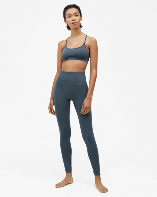 High Seamless Leggings Pigeon