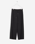 Teo Drawstring Pant Black