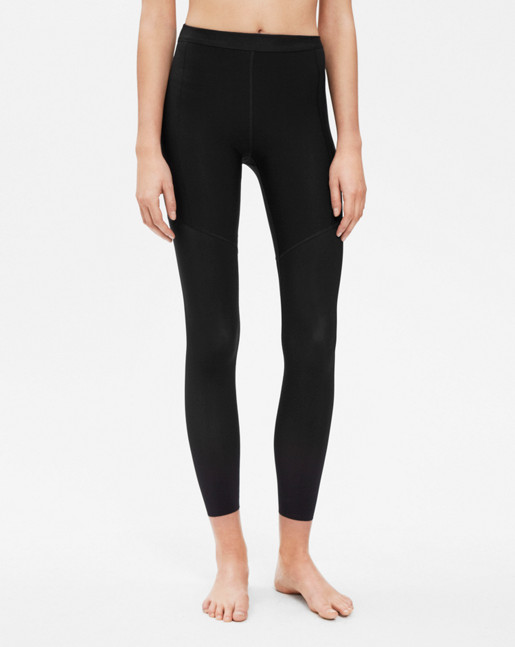 Stay-up leggings Black