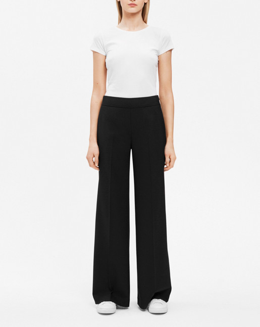 Rhea Pant Wool Stretch Black