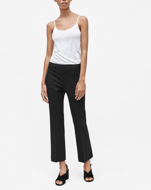 Linh cropped Pant Black