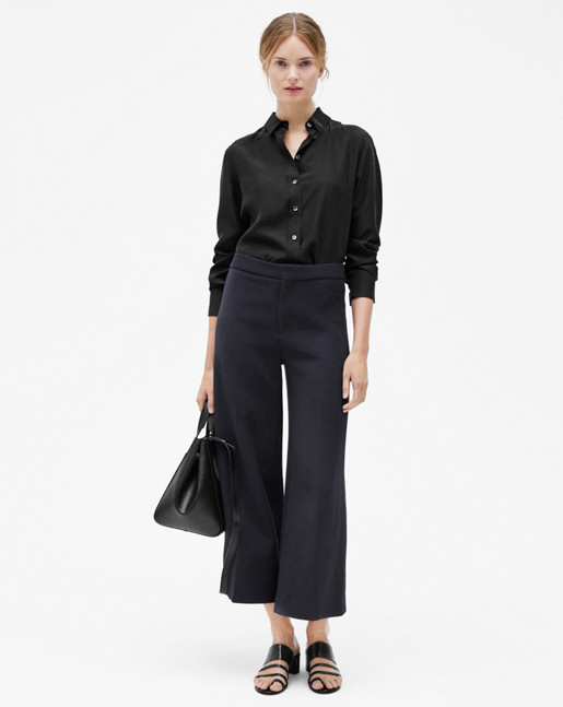 Avery Cropped Pant Evening