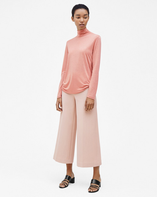 Avery Cropped Pant Tearose