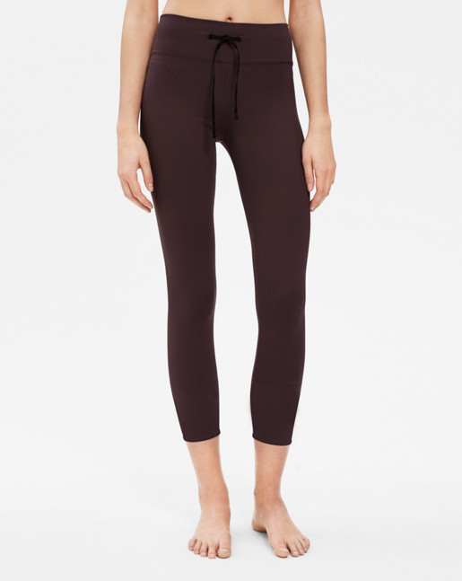 Crop Yoga Legging Raisin