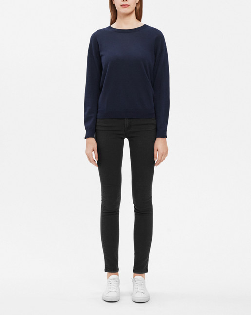 Patti Stretch Jeans Dk Grey