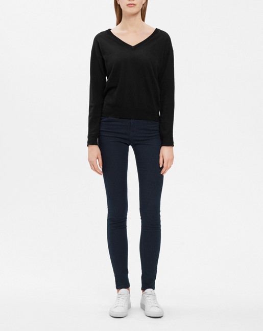 Patti Stretch Jeans Mid Dark