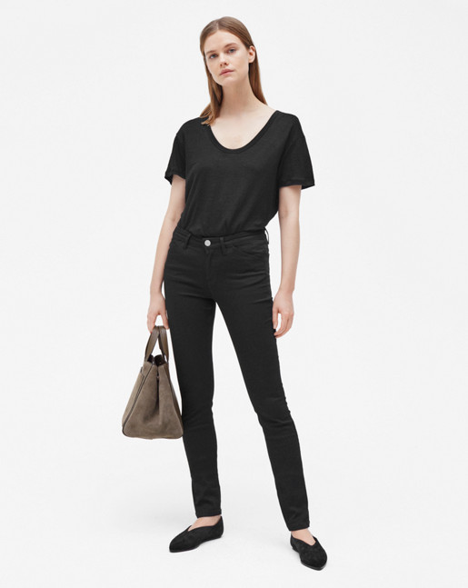 Patti Stretch Jeans Black