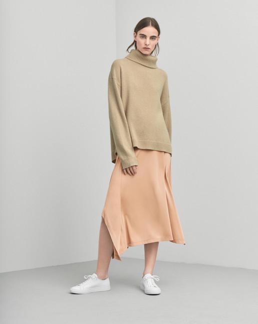 Fluid Drape Skirt