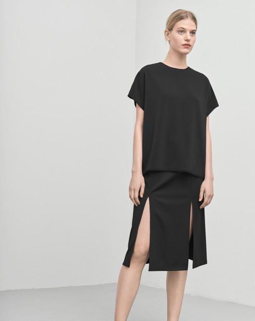 Double Split Skirt