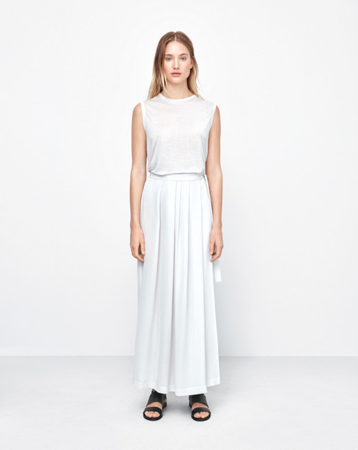 Multi Pleat Wrap Skirt Air