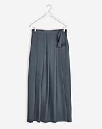 Multi Pleat Wrap Skirt Rock