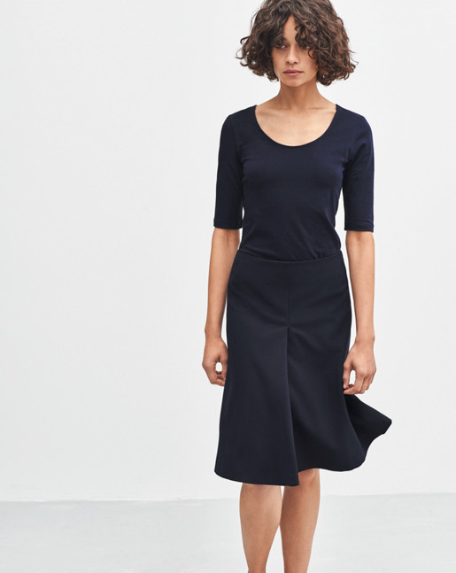 Swing Skirt Navy