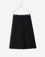 Swing Midi Skirt Black