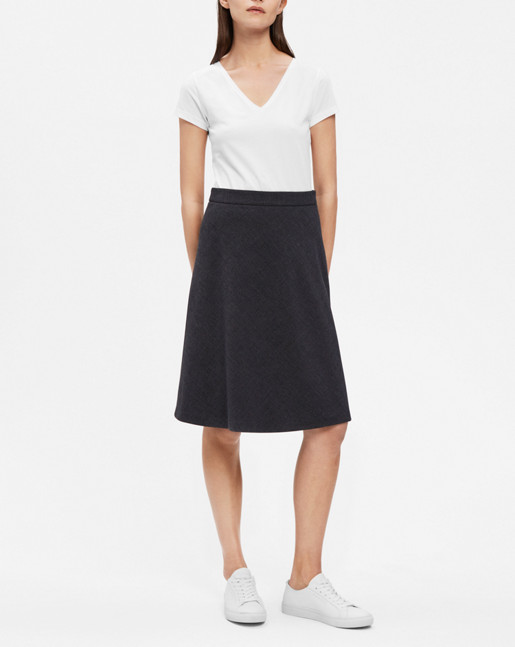 A-line skirt Antracite