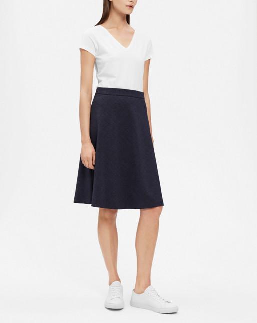 A-line skirt Navy