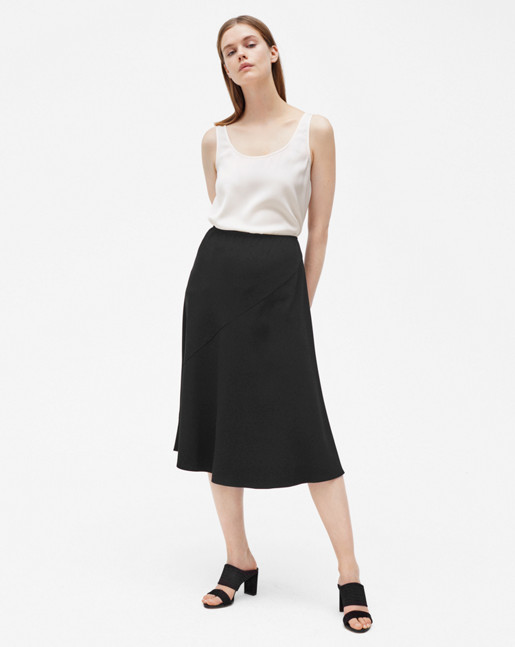 Pull-on Skirt Black