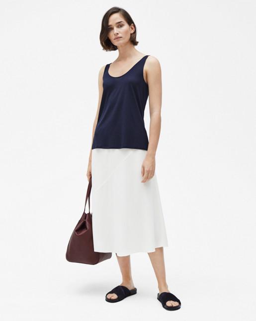 Pull-on Skirt Cream