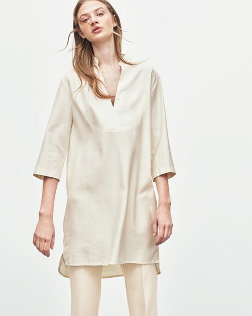 Tencel Tunic Dress
