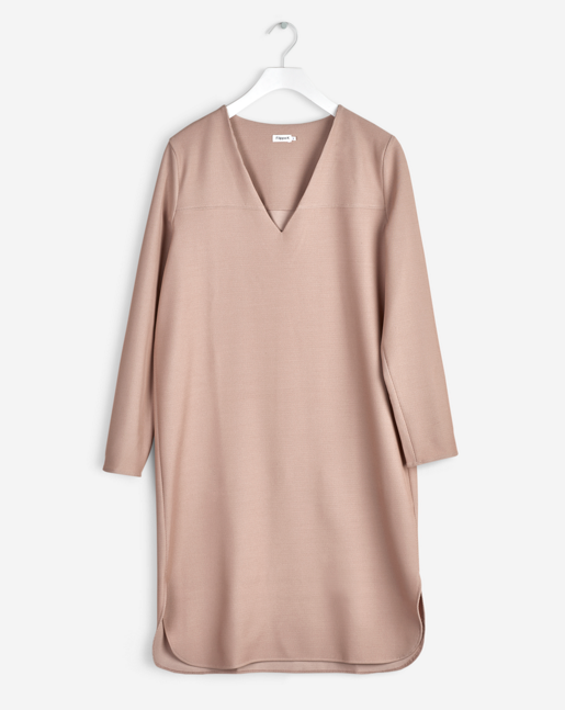Tunic Twill Dress Almondine