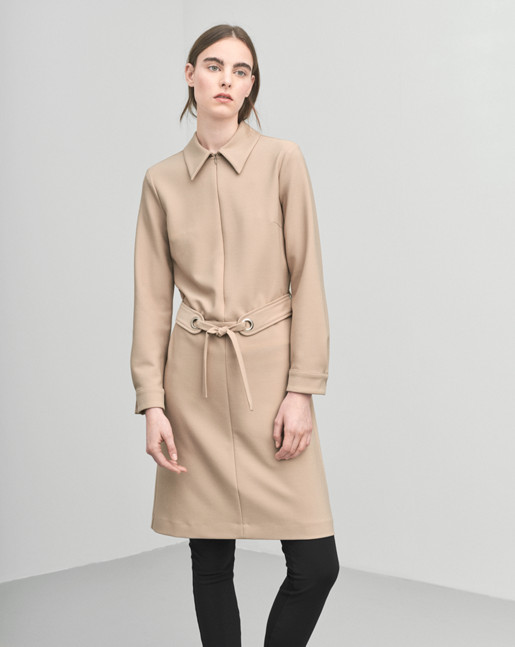 Shirt Zip Dress Almondine