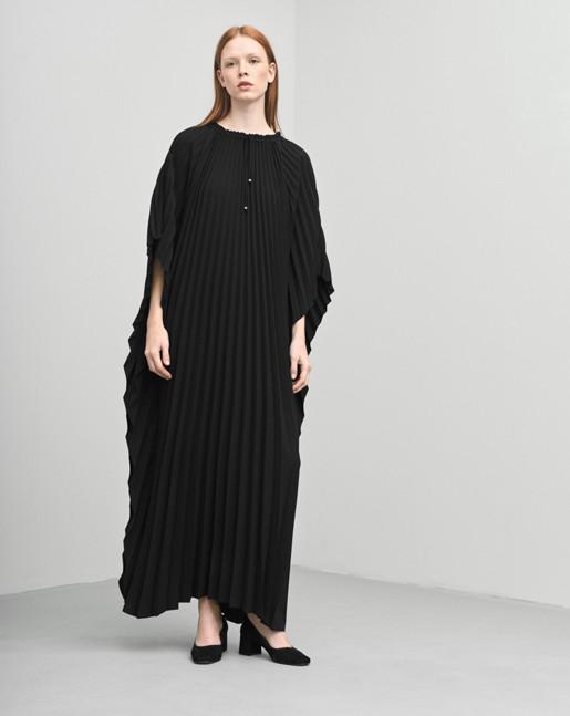 Poncho Plisée Dress