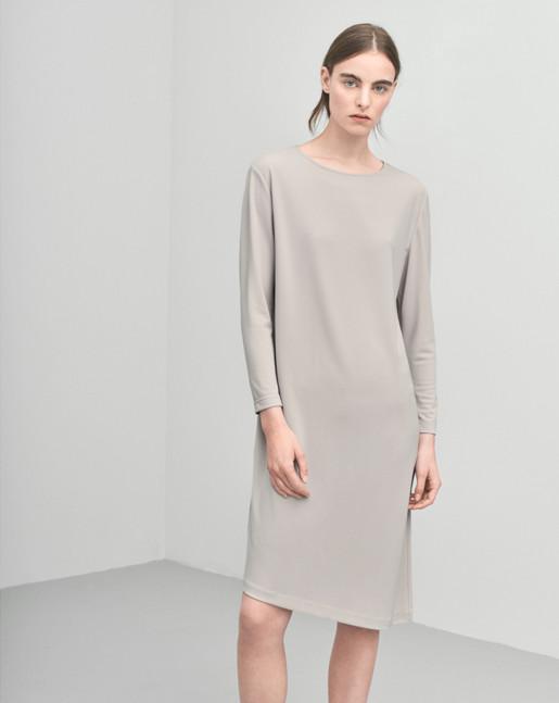 Jersey Tunic Dress Dove