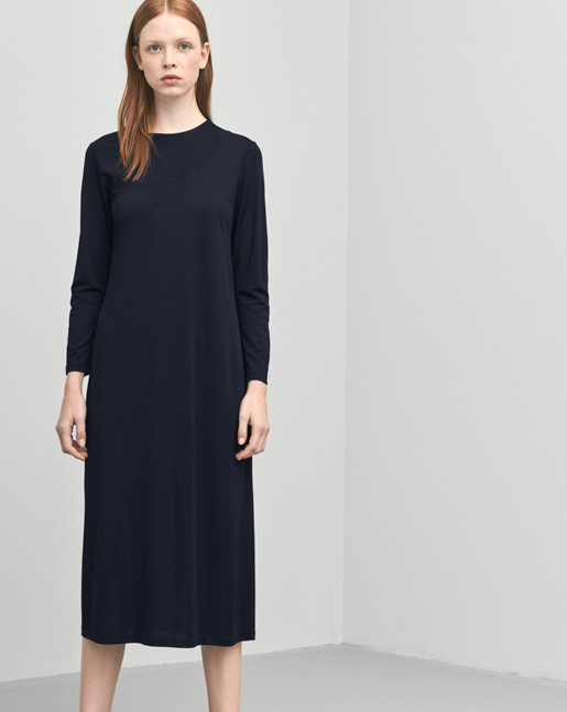 Drapey Jersey Dress