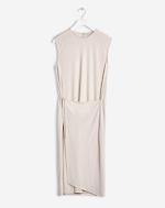 Semi Wrap Dress Chiffon